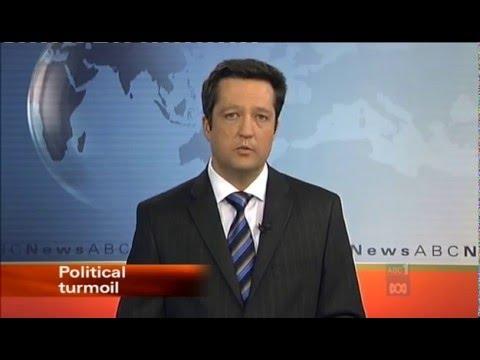 Craig Smart presenting ABC News Perth in 2009 - YouTube