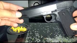 Pistola 9mm Balines Plásticos