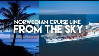 NORWEGIAN CRUISE LINE FROM THE SKY // PRIDE OF AMERICA - HAWAII // MY TOUR TRAVEL GUIDE