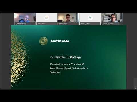Europe-Australia Blockchain Webinar, 9 September 2020