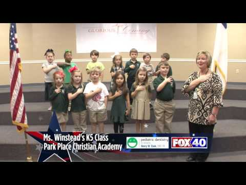 Park Place Christian Academy - Ms. Winstead's K5 Class