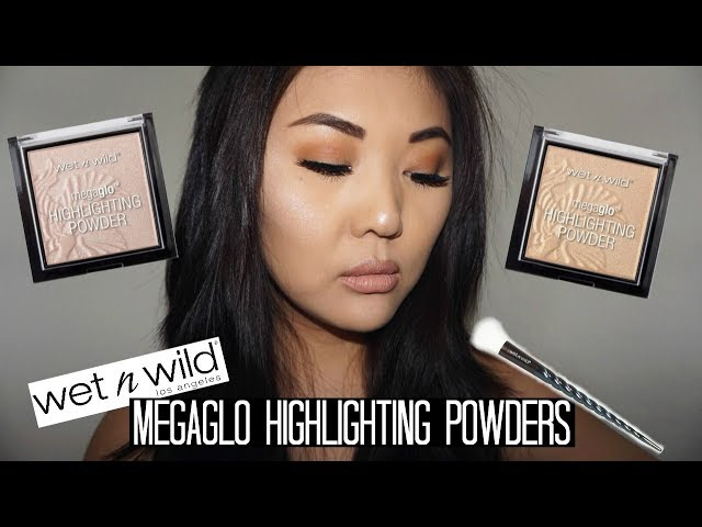 NEW Wet n Wild Megaglo Highlighter Shades | Review & Face Swatches