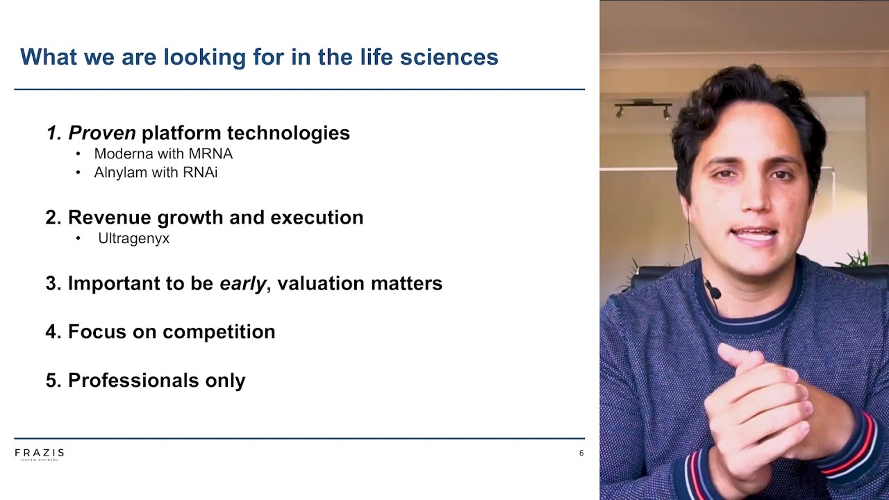 Life Sciences Strategy Update - 29 May 2021