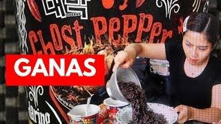 KELUAR AIR MATA..... GHOST PEPPER NOODLES CHALLENGE #ghostpepper