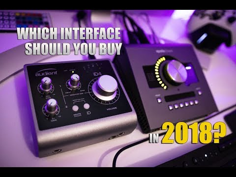 Which Audio Interface Should You Buy In 2018?