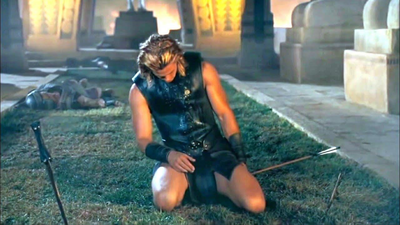 Download Achilles death   Troy (2004) movie scene