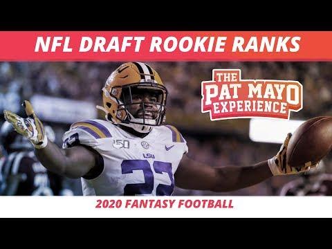 2020 Fantasy Football RB Rankings — Dynasty Rookie RB Rankings, Redraft RB Rankings, Winners, Losers