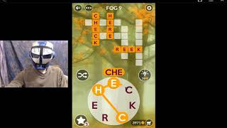 WORDSCAPES FALL, FOG 9 ANSWERS