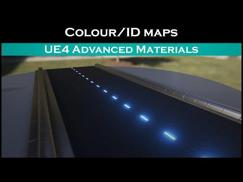 Ue4: advanced materials (Ep. 5 Using colourmaps/IDmaps to paint an asset (Using Lerps))