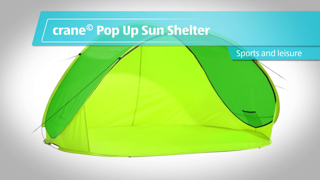 Pop Up Sun Shelter Youtube