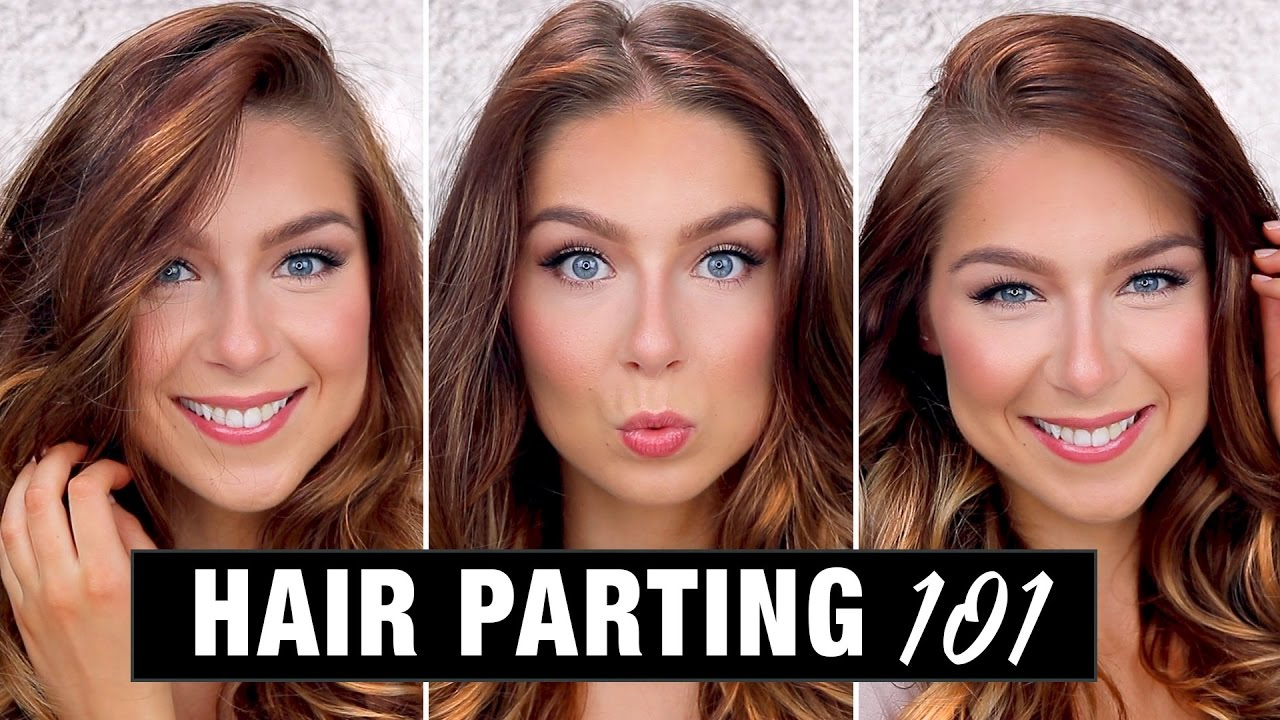 Hair Parting Styles Techniques How To Part Your Hair Youtube
