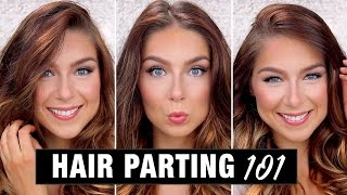 Hair Parting Styles & Techniques | How To Part Your Hair