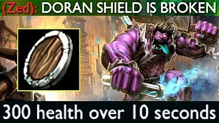 UNKILLABLE WITH DORAN'S SHIELD? 300 HP Regen Bug!