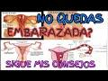 QUEDAR EMBARAZADA RAPIDAMENTE/ BÚSQUEDA DE EMBARAZO/ ¿Dificultades Para Lograr Embarazo Deseado?