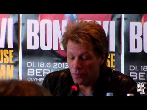 Jon Bon Jovi 'What About Now' interview - John Francis Bongiovi (Jon