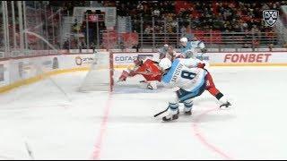 Sayustov snipes one to give Sibir lead
