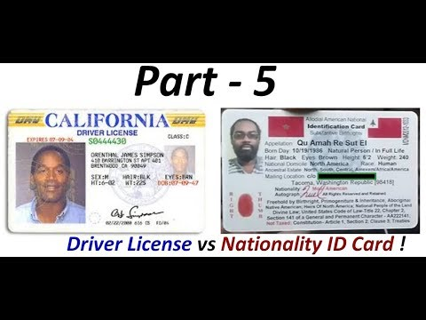 Driver License Fraud: Indigenous Americans 'Not' required to have Colonial Driver Licenses (Pt. 5) !