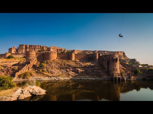 Adventure Traveler: Zip Lining Over Mehrangarg Fort