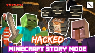 [Mob Mode Theme] Bloody Zombie VS Wither King Ultimate Fight! Minecraft Story Mode
