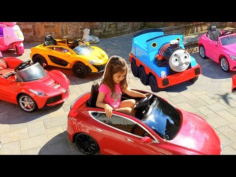Emily's Car Park | Power Wheels Collections Ride On Car!