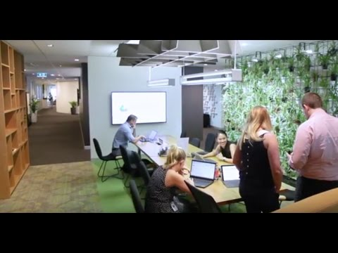 PwC's New Way Of Working –Inside The New Spaces
