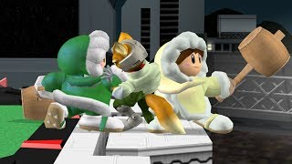 Top 10 Ice Climbers Handoff Combos - Super Smash Bros