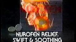 Nurofen pain relief 1993 commercial New Zealand