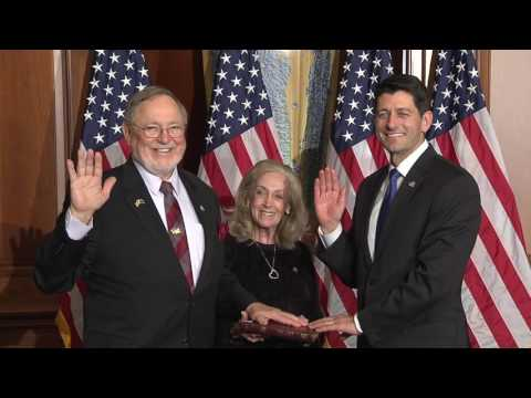 B-Roll: Don Young Ceremonial Swearing-In 115th Congress