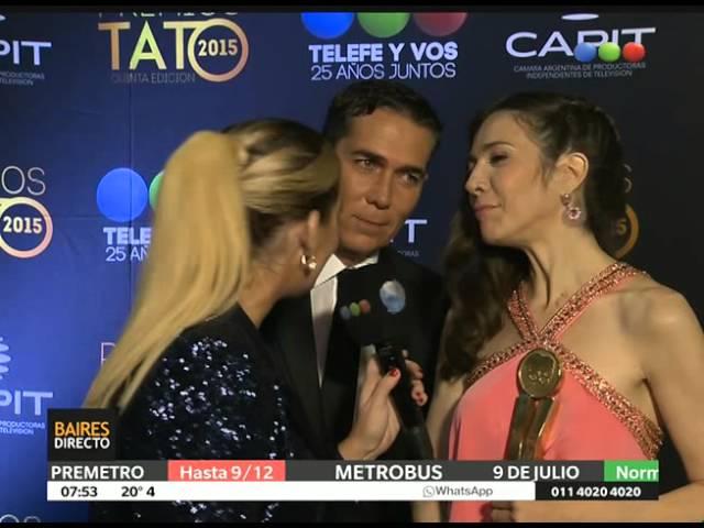 Premios Tato: Barili y Cristina Pérez, mejor conducción de noticiero – Telefe Noticias