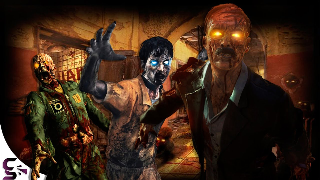 The Evolution of: Call of Duty (Zombies Edition) - YouTube