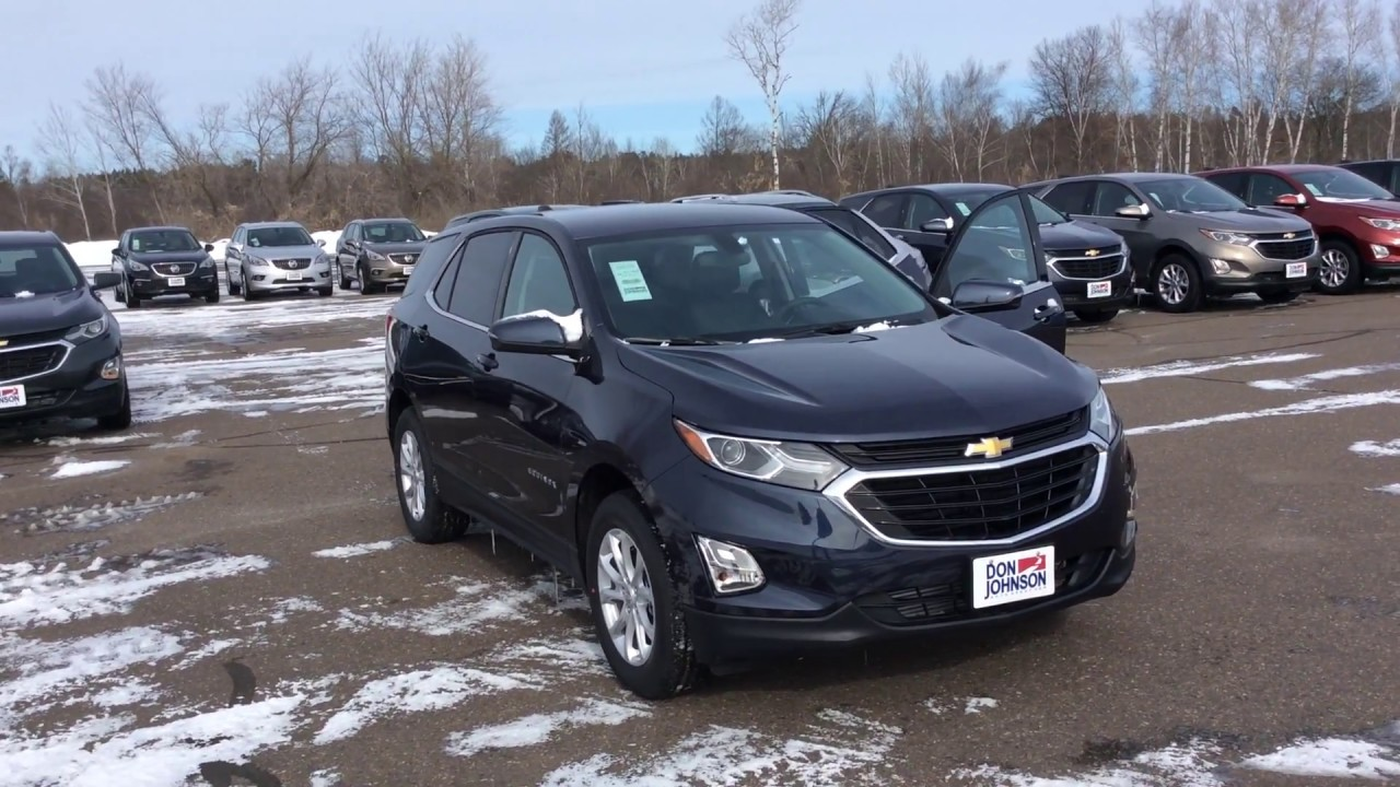 2018 chevrolet equinox awd lt w 1lt storm blue metallic for Don johnson hayward motors