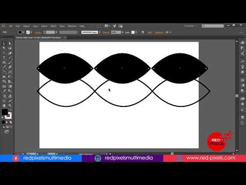 DNA Vector Sign in Adobe Illustrator Tutorial - Step By Step thumbnail