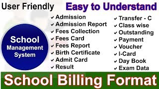 Student Fee Management System In Excel