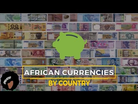 African Currencies By Country
