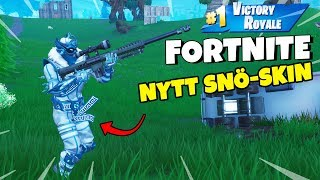 WINS WITH NEW SNOW-SKINNET in FORTNITE * WE OWN ALL * Duo with Polski