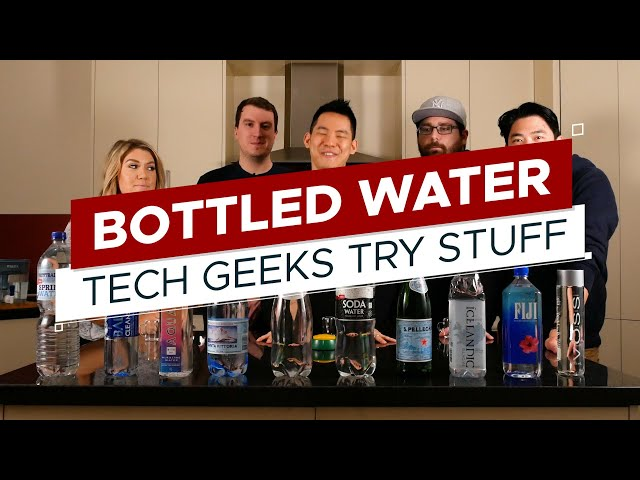 Taste Test: Australian Bottled Water | TGTS S3E1