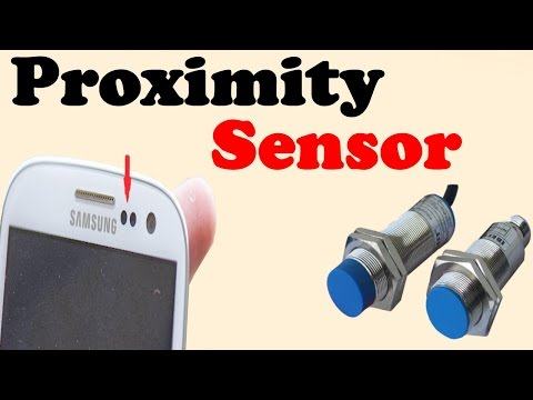 Proximity sensor || Explain with details in hindi