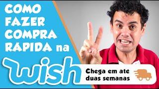 COMO COMPRAR NA WISH E RECEBER RÁPIDO (CHEGA EM ATÉ 2 SEMANAS) - Fubá online screenshot 1