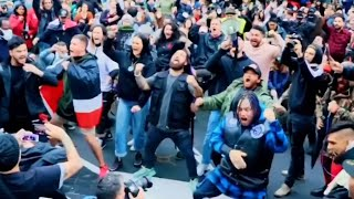 Protesters perform the haka outside the US consulate in NZ | George Floyd Protests