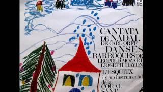 L'Esquitx I Grup Instrumental De La Coral Sant Jordi - Cantata De Nadal / Danses Barroques - LP 1968