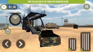 US Army Car Transport & Cruise Ship Simulator Game   Android Gameplay   Friction Games