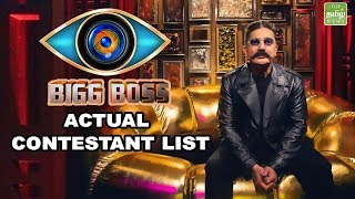 Actual  Final Contestants of Bigg Boss Season 3 | Bigg Boss Review Episode 1