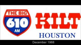 K I L T 610 Houston radio promo (1968)