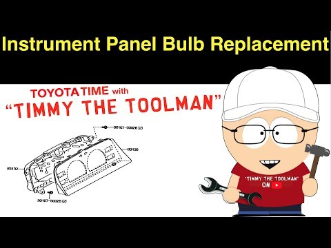 Instrument Panel Light Bulb Replacement