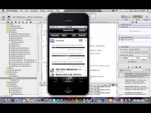 iPhone Music app 2012