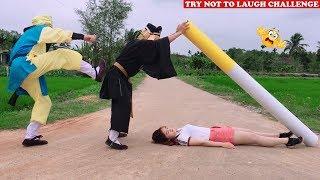 Top New Funny 😂 😂 Comedy Videos 2020 - Episode 92 | Cười Bể Bụng Với Ngộ Không Ăn Hại Và Gái Xinh