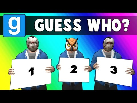 Gmod Guess Who Funny Moments - Breaking News! (Garry's Mod)