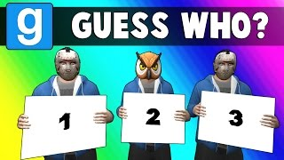 Gmod Guess Who Funny Moments - Breaking News! (Garry