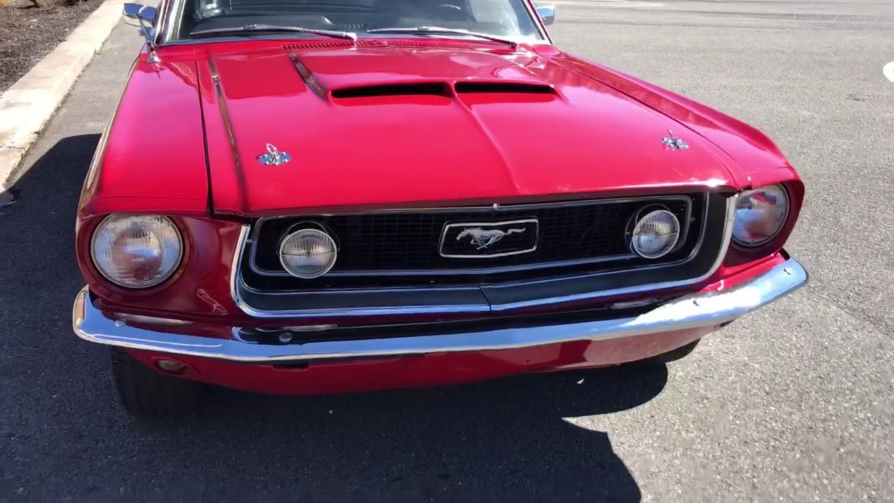 1968 Mustang J Code