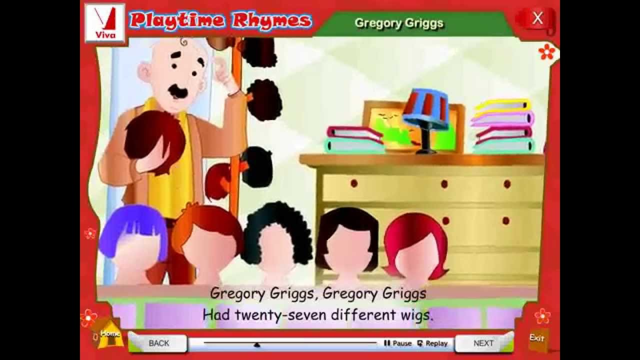 Gregory Griggs Nursery Rhymes
